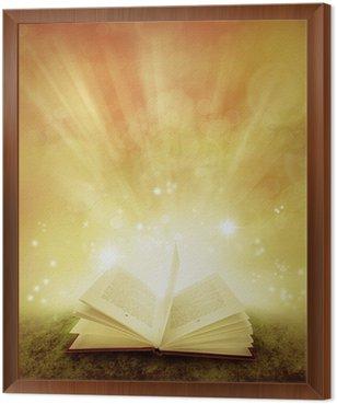 Framed Canvas Book