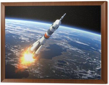 "Carrier rocket ""Soyuz-FG"" Launching"