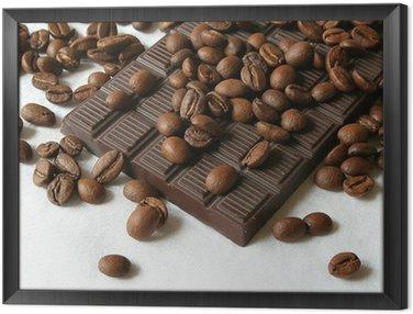 Framed Canvas chocolate