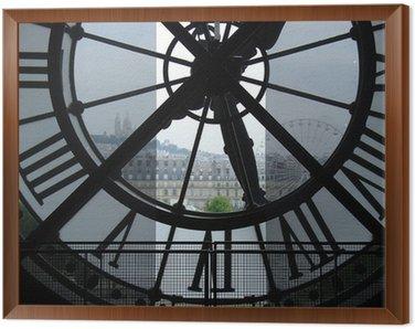 Clock in Museum d'Orsay