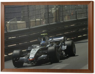 Framed Canvas formule 1