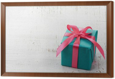 Gift box wall mural pixers we live to change gift box framed canvas negle Choice Image