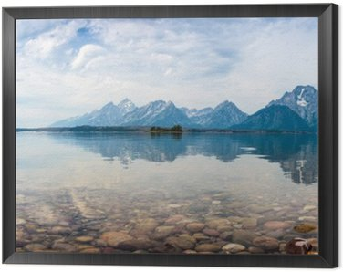 Framed Canvas Grand Teton National Park