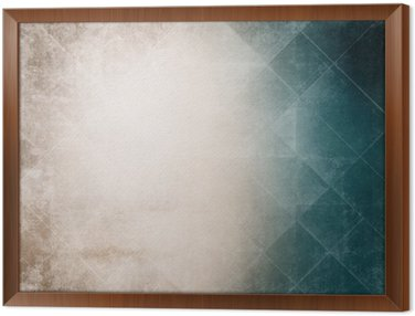 Framed Canvas Grunge background