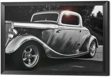 Framed Canvas hotrod