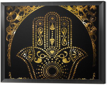 Framed Canvas islam