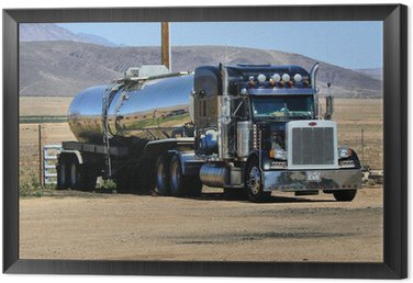 Framed Canvas Kenworth