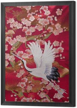 kimono 鶴
