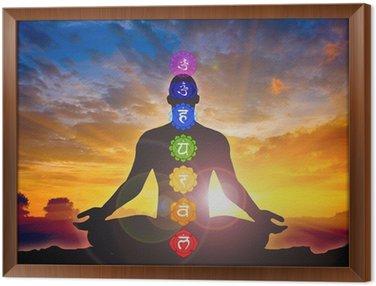 Framed Canvas Meditation