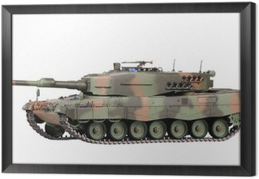 Model of tank isolated