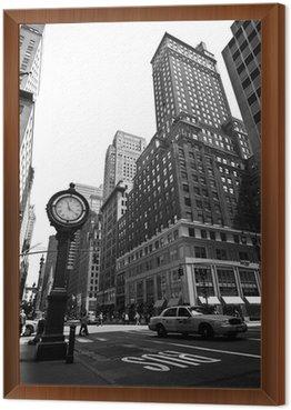 Framed Canvas New York