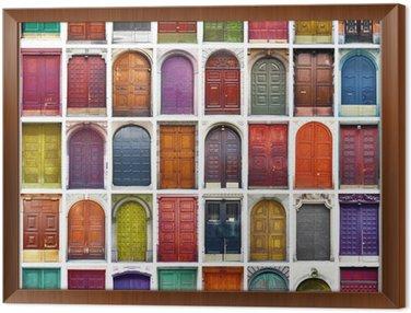 porte e portoni collage