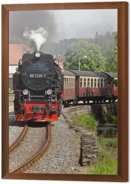 Framed Canvas Selketalbahn Harz