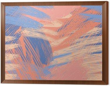 Framed Canvas Sophisticated pastel pattern background