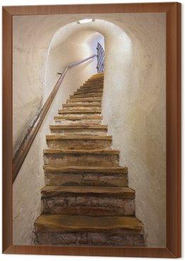 Framed Canvas Stairs in Castle Kufstein - Austria