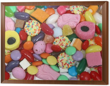 Framed Canvas sweets 4