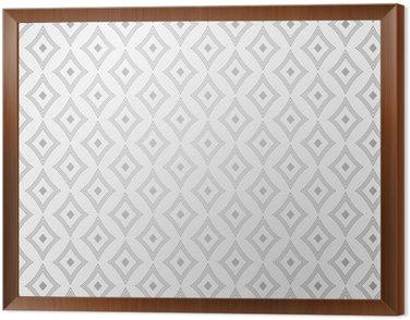 Vector vintage pattern Framed Canvas