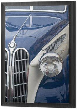 Framed Canvas Vintage car