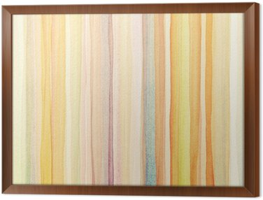 Framed Canvas Watercolor background
