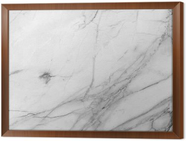 white background marble wall texture Framed Canvas