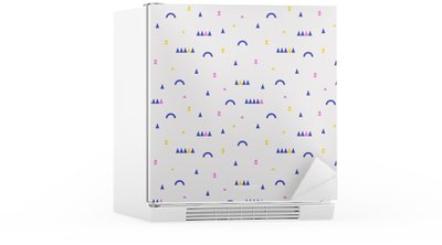 seamless geometric pattern Fridge Sticker