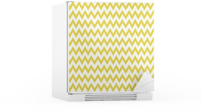 Zigzag pattern vector Fridge Sticker