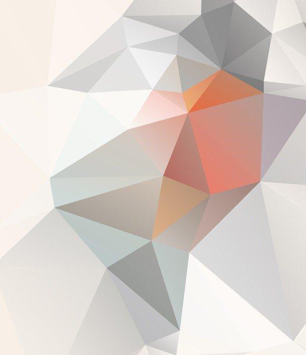 Fototapeta Vinylowa Geometryczne tło światło wektorowej EPS 10 - Tematy
