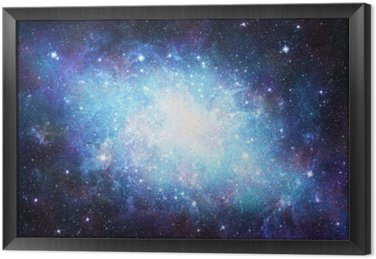 Gerahmtes Leinwandbild Galaxie