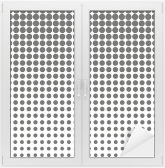 Glas- och Fönsterdekorer Abstrakt halvton. Svarta prickar på vit bakgrund. Halvton bakgrund. Vektor halvton prickar. halvton på vit bakgrund. Bakgrund för design