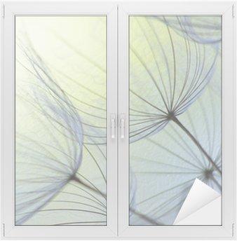 Glas- och Fönsterdekorer Maskros frö
