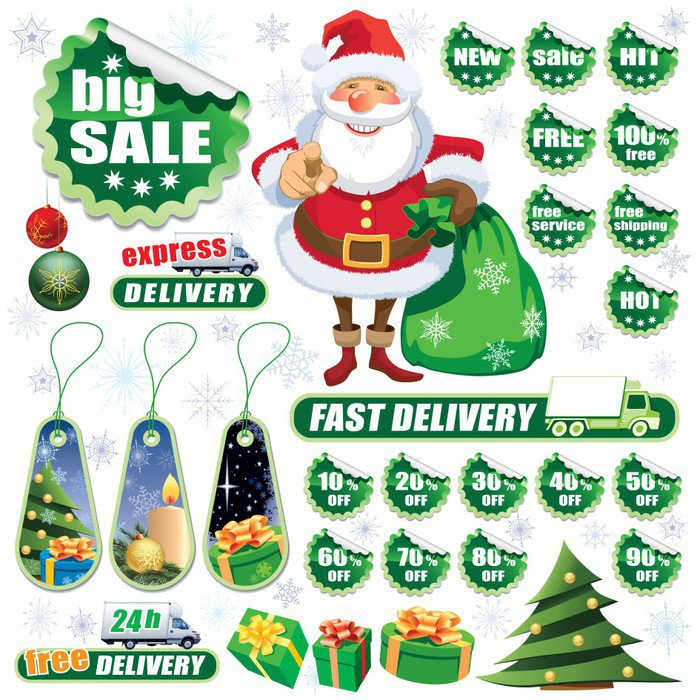 Green Christmas sale
