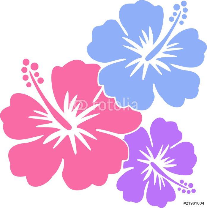 Hawaiiblumen Pastell