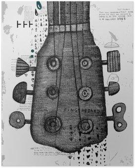 HD Poster Гриф от гитары