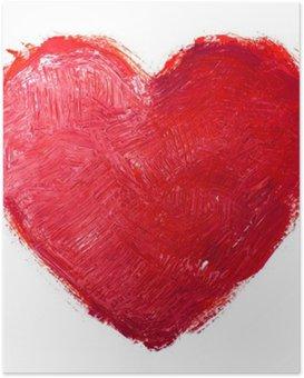 HD Poster Aquarell Herzen. Concept - Liebe, Beziehung, Kunst, Malerei