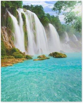 HD Poster Detian Wasserfall