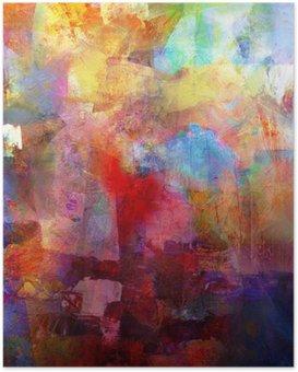 HD Poster Malerei texturen