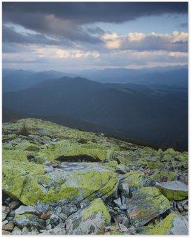 HD Poster Carpathian berglandschap
