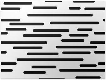 HD Poster Geometrisk struktur med mjuka linjer