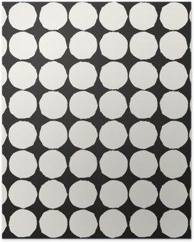 HD Poster Naadloos patroon met grafische geometrische elementen