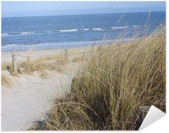 HD Poster Nordsjön stranden