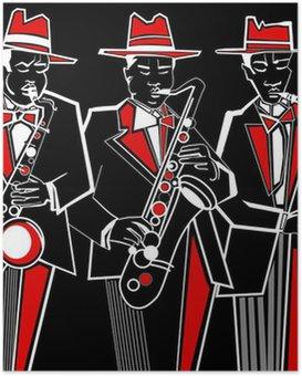 HD Poster Saxofonisten