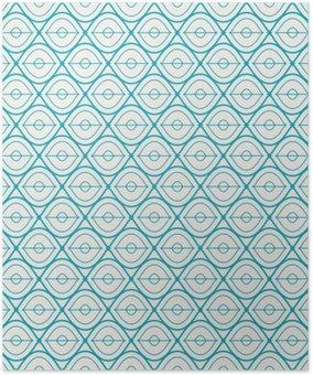 HD Poster Seamless geometriskt mönster