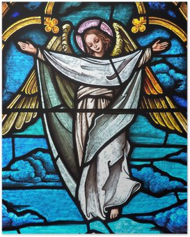 HD Poster Stained Glass Angel