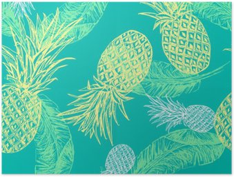 HD Poster Tropical Seamless.
