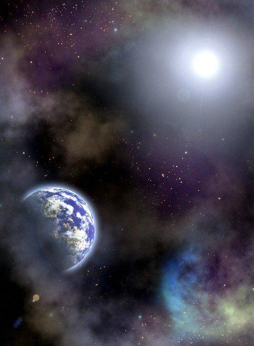 HD Poster Utrymme scenario - Universum