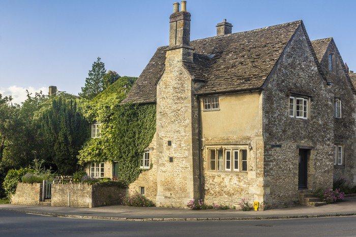 house Lacock Wiltshire England United Kingdom