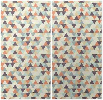 İki Parçalı Kesintisiz geometrik desen