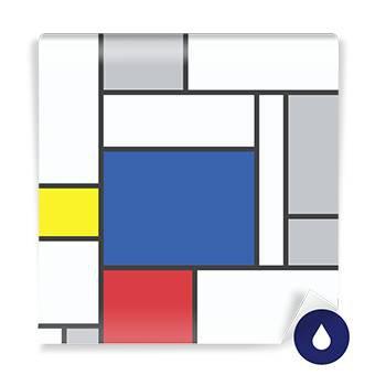 Fototapeta - Mondrian inspirowane sztuką