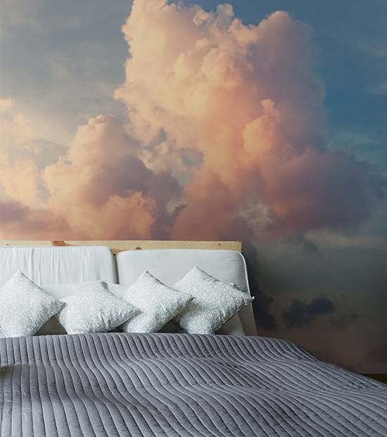 Fototapeta do ložnice - Mraky na obloze
