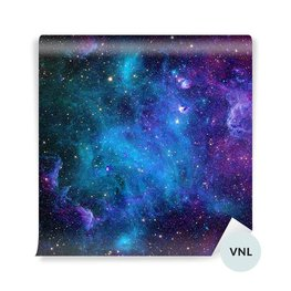 Wall Mural Teenage girl's room - Galaxy
